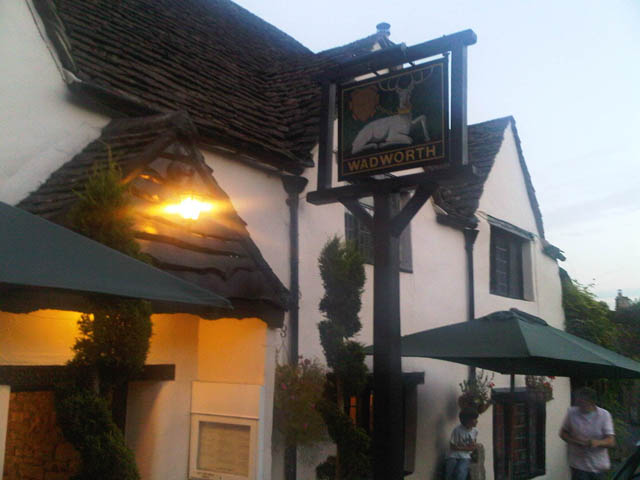 Castle Combe – Pub I ate at.