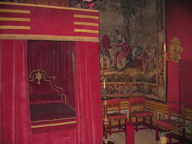 Nicolas Fouquet's Bedchamber
