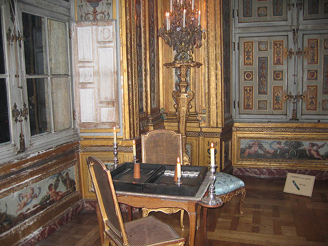 The Games Room, where popular games like backgammon and basset were played.