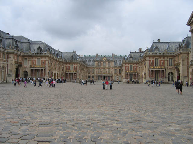 The breathtaking Palace of Versailles.
