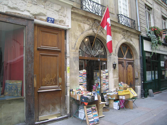 My favorite bookshop in Paris!
