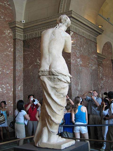 Venus de Milo (a side less often photographed)