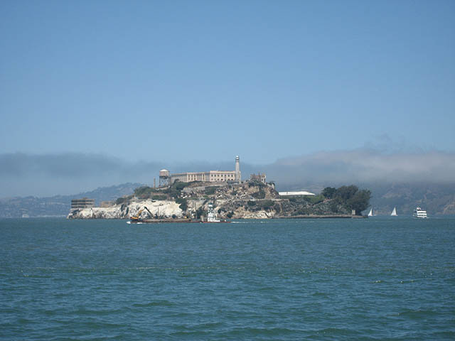 Alcatraz Island a.k.a The Rock.